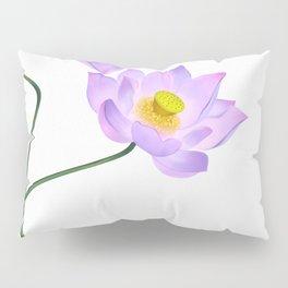 Thamarai, Yellow Flower, Floral Pattern, Yellow Blossom Pillow Sham