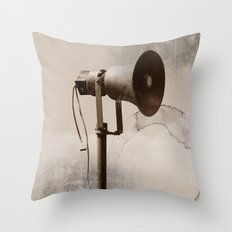Can you hear me..... Throw Pillow