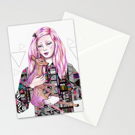 EMBRACE by Kris Tate and Ola Liola  Stationery Cards