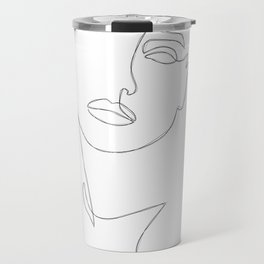 Triple Face Line Travel Mug
