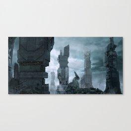 Megalopolis-1 Canvas Print