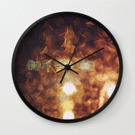 Mixed Light Wall Clock