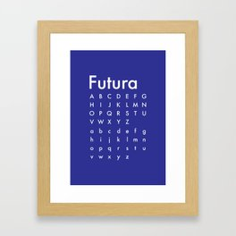 Fashionable Futura - Proud Framed Art Print