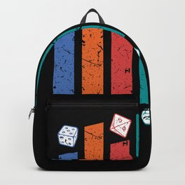 BoardGame Dices Board Game Nerd Backpack