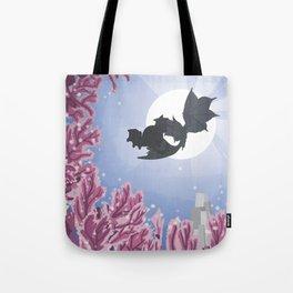 Coral Highlands (Monster Hunter) Travel Poster Tote Bag