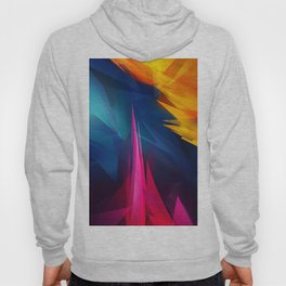 Geometric Colors Hoody