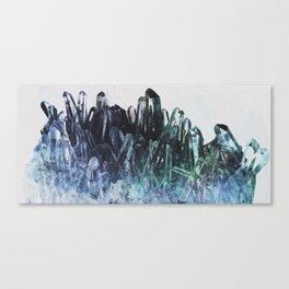 Ice quartz Canvas Print
