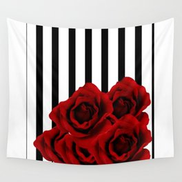 Prohibited roses Wall Tapestry