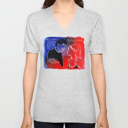 May be we can Unisex V-Neck