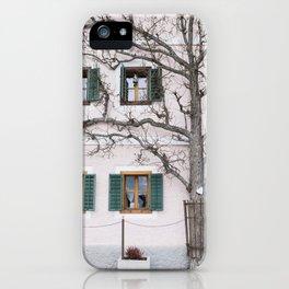 Pastel house iPhone Case