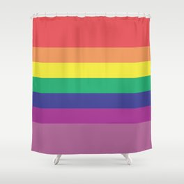 Gay Colors Shower Curtain
