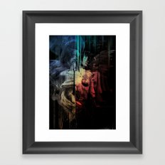 Smoke & Mirrors Framed Art Print