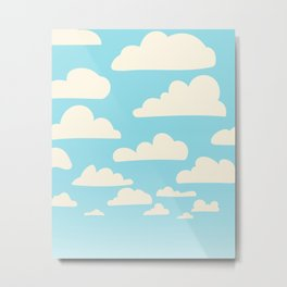 Clouds for Days Metal Print
