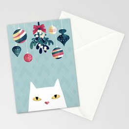 Mistletoe? Stationery Cards
