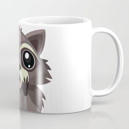 Surprised raccoon Coffee Mug