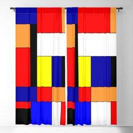 Mondrian #9 Blackout Curtain