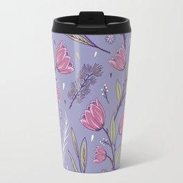 Flower Pattern 2 Travel Mug