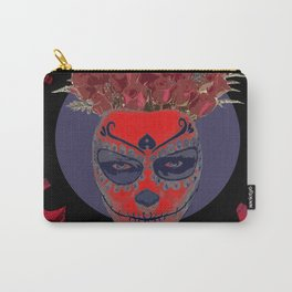 Catrina Flower Carry-All Pouch