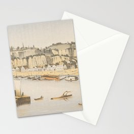 Vintage Pictorial View of Natchez MS (1854) Stationery Cards
