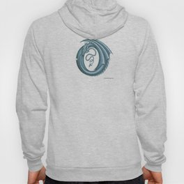 """Dragon Letter O, from """"Dracoserific"""", a font full of Dragons Hoody"""