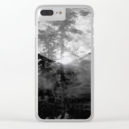 And With the Trees... Clear iPhone Case