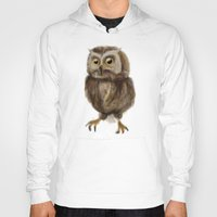 hedwig Hoodies featuring My Hedwig by Mathis Designs