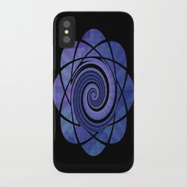 Atom Twirl iPhone Case