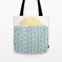 Sunny Tribal Seas Tote Bag