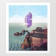 Purple trance Art Print