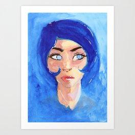 Azora Art Print