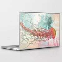 rose Laptop & iPad Skins featuring Jellyfish by Mat Miller