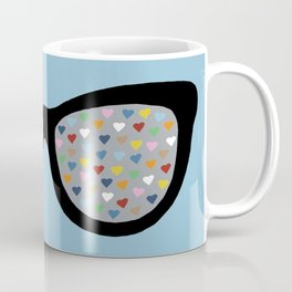 Heart Eyes Coffee Mug