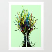 creativity Art Prints featuring Creativity by Tobe Fonseca