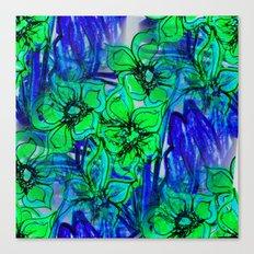 Oceans of Flowers Canvas Print