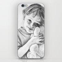 teddy bear iPhone & iPod Skins featuring Teddy Bear by VicFreyd