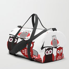 Red Owls Duffle Bag