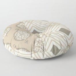 Pompeii in Tan Floor Pillow
