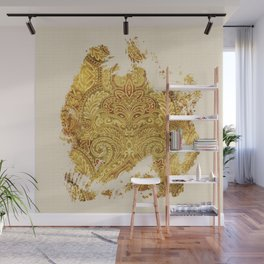 Fine Art of Growing Plants in the Ancient Nature Wall Mural