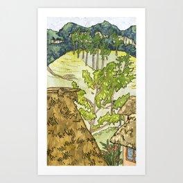 Lanquin, Guatemala Art Print