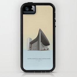 Ronchamp Chapel Le Corbusier iPhone Case