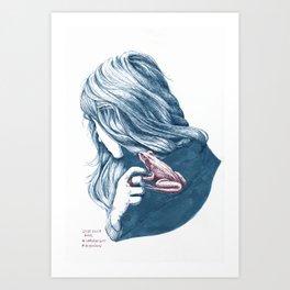 FlüsterFrosch Art Print