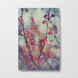 Spring Impressions Metal Print