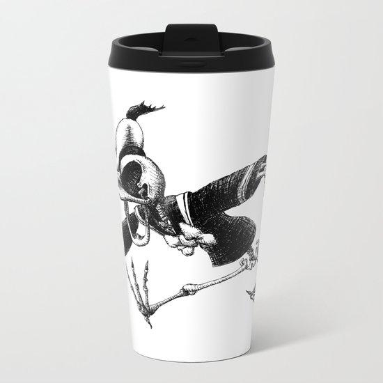 Donald Duck Metal Travel Mug