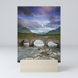Bridge to the Valley Beyond Mini Art Print