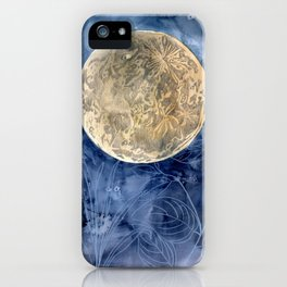 Moon Garden iPhone Case