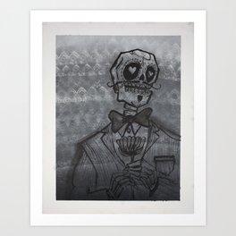 el Caballero (the Gentleman)  Art Print
