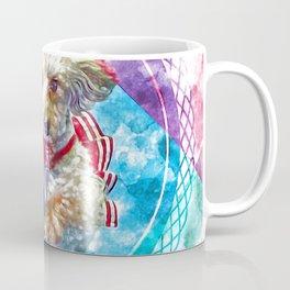 Penny the Yorkipoo rainbow colors Coffee Mug