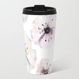 Moon flowers Travel Mug