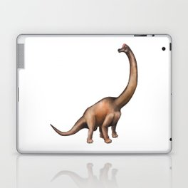 Realistic watercolor dinosaur Laptop & iPad Skin