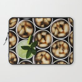 One Fancy Drink - One Mint Julep and Among Cola Laptop Sleeve